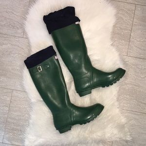 Hunter Made in Scotland Vintage Wellington Boots